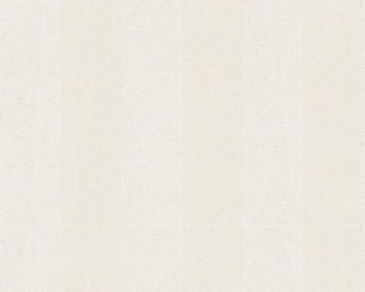 VLIESTAPETE 10,05 m - Hellgrau/Weiß, Basics, Textil (70/1005cm)