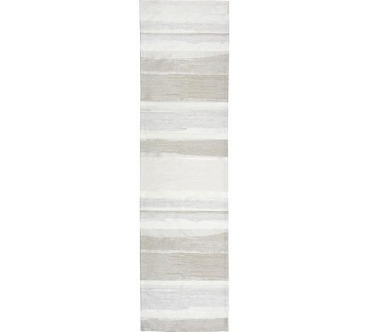 UBRUS 'BĚHOUN' NA STŮL, 45/165 cm, šedohnědá - šedohnědá, Konvenční, textil (45/165cm)