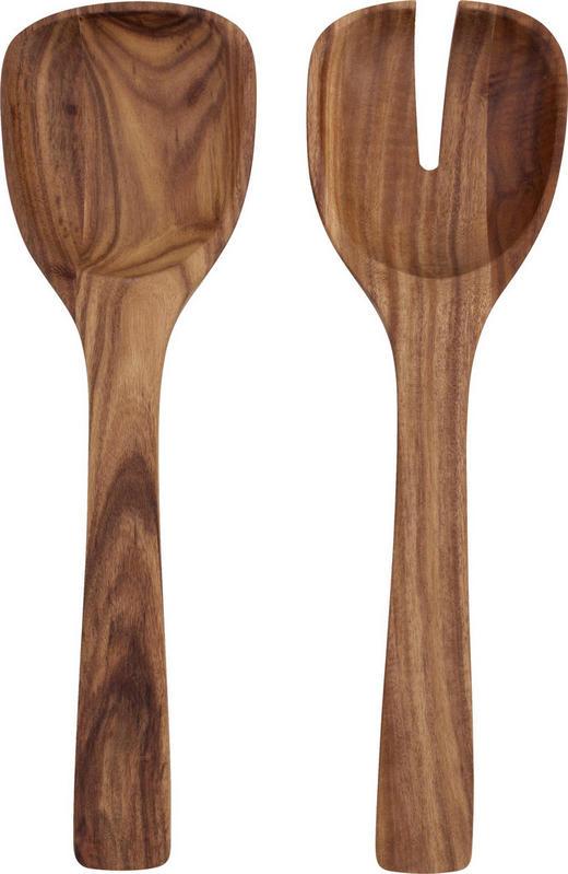 SALATBESTECK - Akaziefarben, Basics, Holz (23cm) - Villeroy & Boch