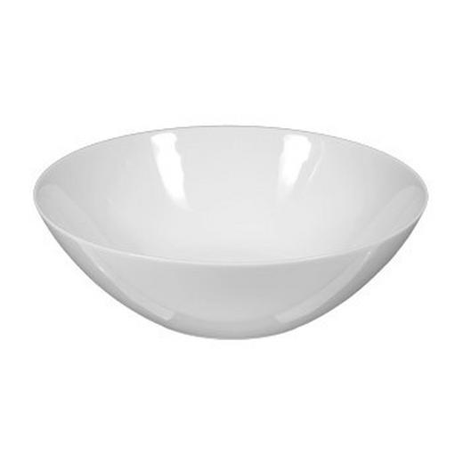 SALATSCHÜSSEL Porzellan - Weiß, Basics (19cm) - SELTMANN WEIDEN