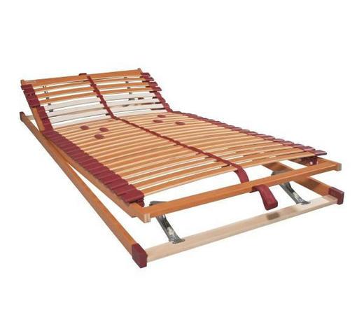 ROŠT, 90/200 cm,  - hnědá/béžová, Basics, dřevo (90/200cm) - Sembella