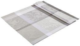 TISCHDECKE 130/160 cm - Grau, KONVENTIONELL, Textil (130/160cm) - Esposa