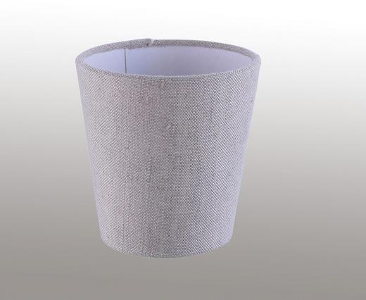 LEUCHTENSCHIRM  Sandfarben, Weiß  Textil  E14 - Sandfarben/Weiß, KONVENTIONELL, Textil (11/11cm)