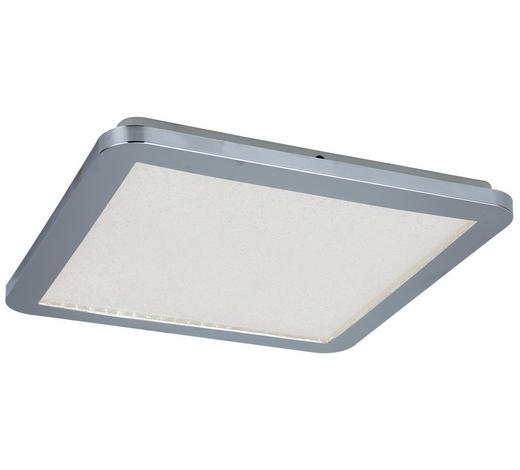LED-PANEEL - Chromfarben, Basics, Kunststoff/Metall (40cm) - Novel