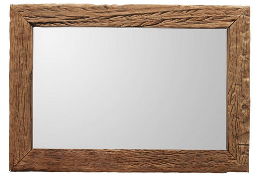 SPIEGEL - Braun, Trend, Glas/Holz (70/100/4cm) - Ambia Home