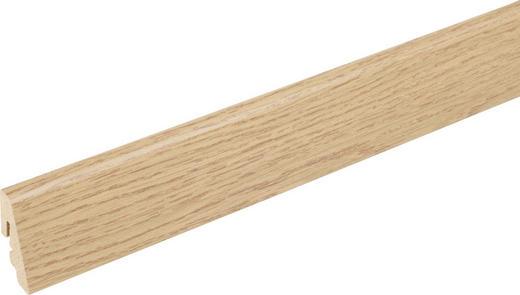 SOCKELLEISTE Eichefarben - Eichefarben, Basics, Holz (240/1,85/3,85cm) - Homeware