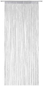 ZÁCLONA PROVÁZKOVÁ - šedá/barvy stříbra, Trend, textil (90/245cm) - BOXXX