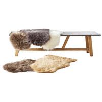 Schaffellimitat  60/90 cm  Grau   - Grau, Basics, Textil (60/90cm) - Boxxx
