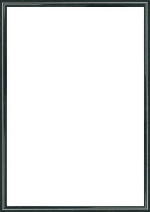 BILDERRAHMEN  Schwarz - Schwarz, Basics, Glas/Kunststoff (41/31/1.75cm)