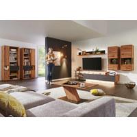 COUCHTISCH in Holz, Metall 115/65/45 cm - Edelstahlfarben/Buchefarben, Design, Holz/Metall (115/65/45cm) - Valnatura