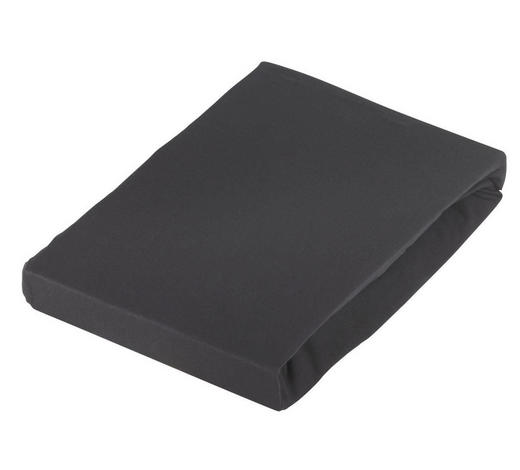 PLAHTA S GUMICOM - crna, Konvencionalno, tekstil (180/200cm) - Schlafgut