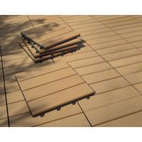 TERRASSENFLIESE - Braun, KONVENTIONELL (30/30/2,4cm) - Ambia Garden