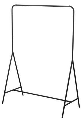 KLÄDHÄNGARE - svart, Klassisk, metall (109/154/55cm)