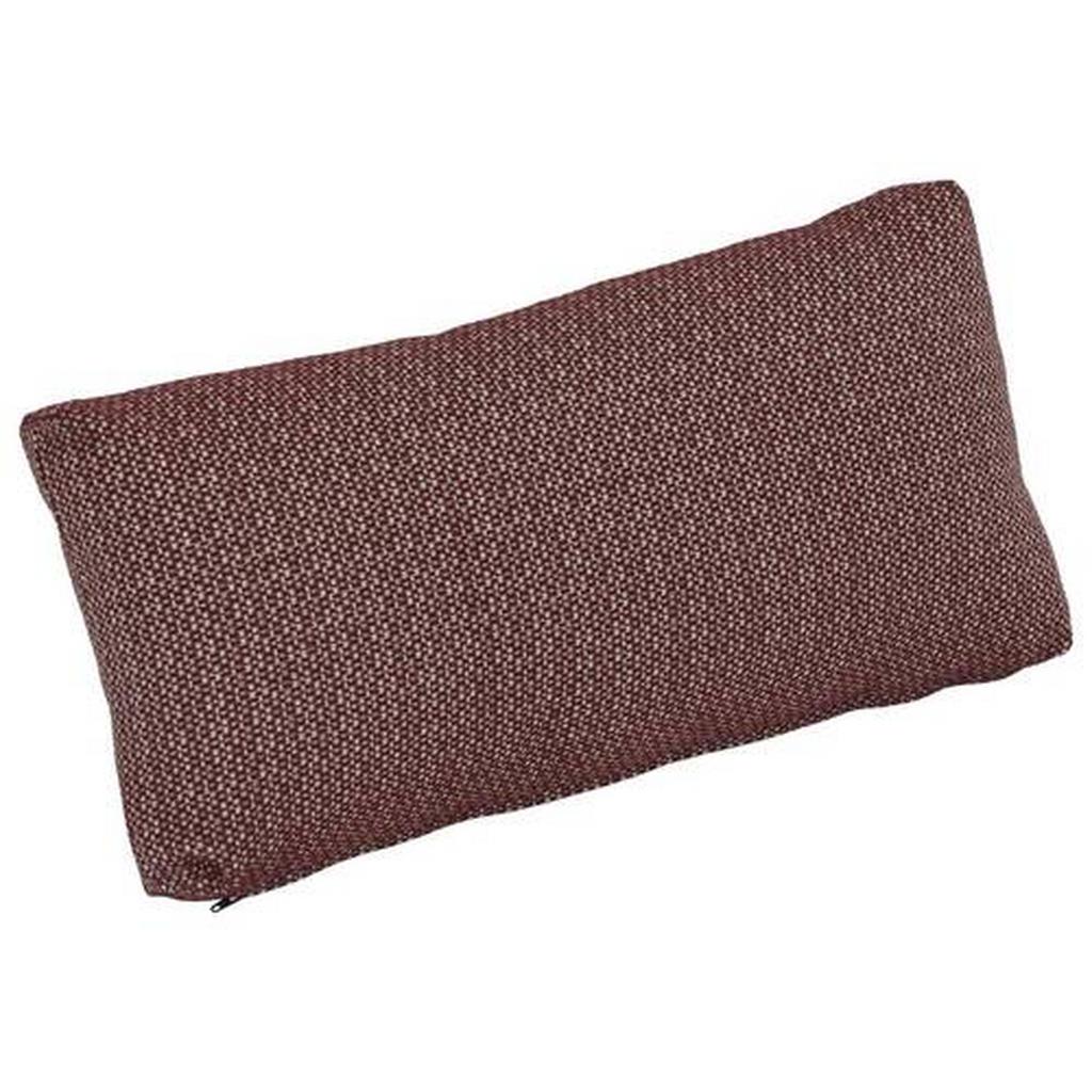Zebra Süd Loungekissen , Rotbraun , Textil , Füllung: Schaumstoff , 50x23.5x13.5 cm , pflegeleicht, für den Außenbereich geeignet, UV-beständig , Gartenmöbel, Gartenbänke