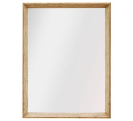 SPIEGEL Eiche Eichefarben  - Eichefarben, Design, Glas/Holz (32.5/42.5/4cm)