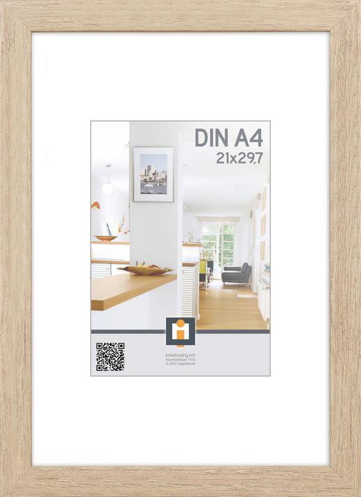 BILDERRAHMEN in Grau - Grau, Basics, Glas/Kunststoff (24/33/1,5cm)