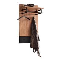 GARDEROBENPANEEL 60/106/31 cm  - Eichefarben/Bronzefarben, Design, Glas/Holz (60/106/31cm) - Cassando