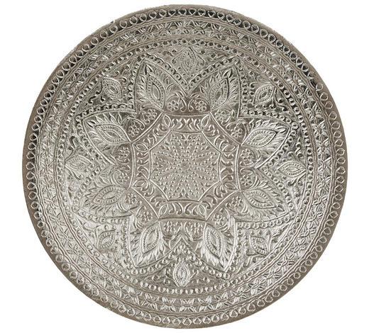 DEKOSCHALE - Silberfarben, LIFESTYLE, Metall (40/6,5cm) - Ambia Home