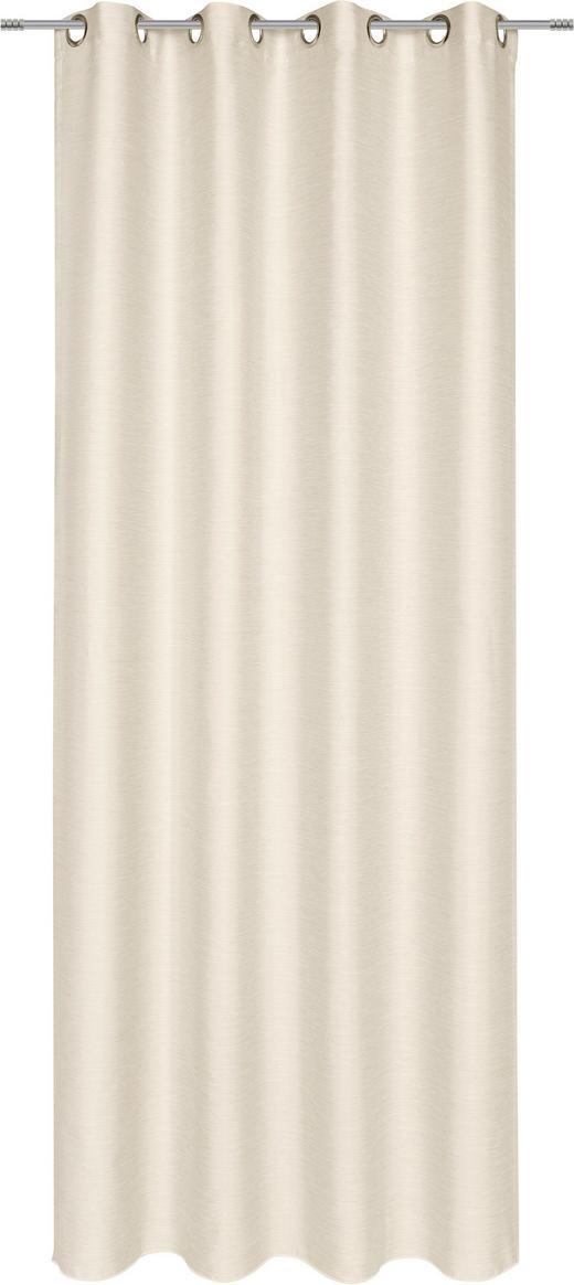 ÖSENSCHAL  blickdicht   135/245 cm - Naturfarben, Design, Textil (135/245cm) - Esposa