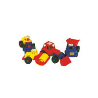 SPIELZEUGAUTO - Multicolor, Basics, Kunststoff (25cm)