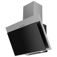 Dunstabzugshaube 60250 - Edelstahlfarben/Schwarz, Basics, Metall (60/97-133/35,5cm) - Mican