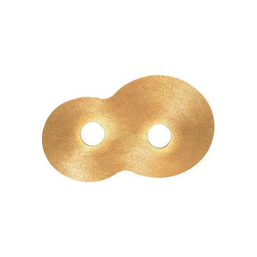 DECKENLEUCHTE - Goldfarben, KONVENTIONELL, Metall (32/53cm)