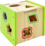 Sortier-Würfel - Multicolor, Basics, Holz (15/15/15cm) - My Baby Lou