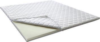 TOPPER 180/200 cm  - Weiß, KONVENTIONELL, Textil (180/200cm) - Xora
