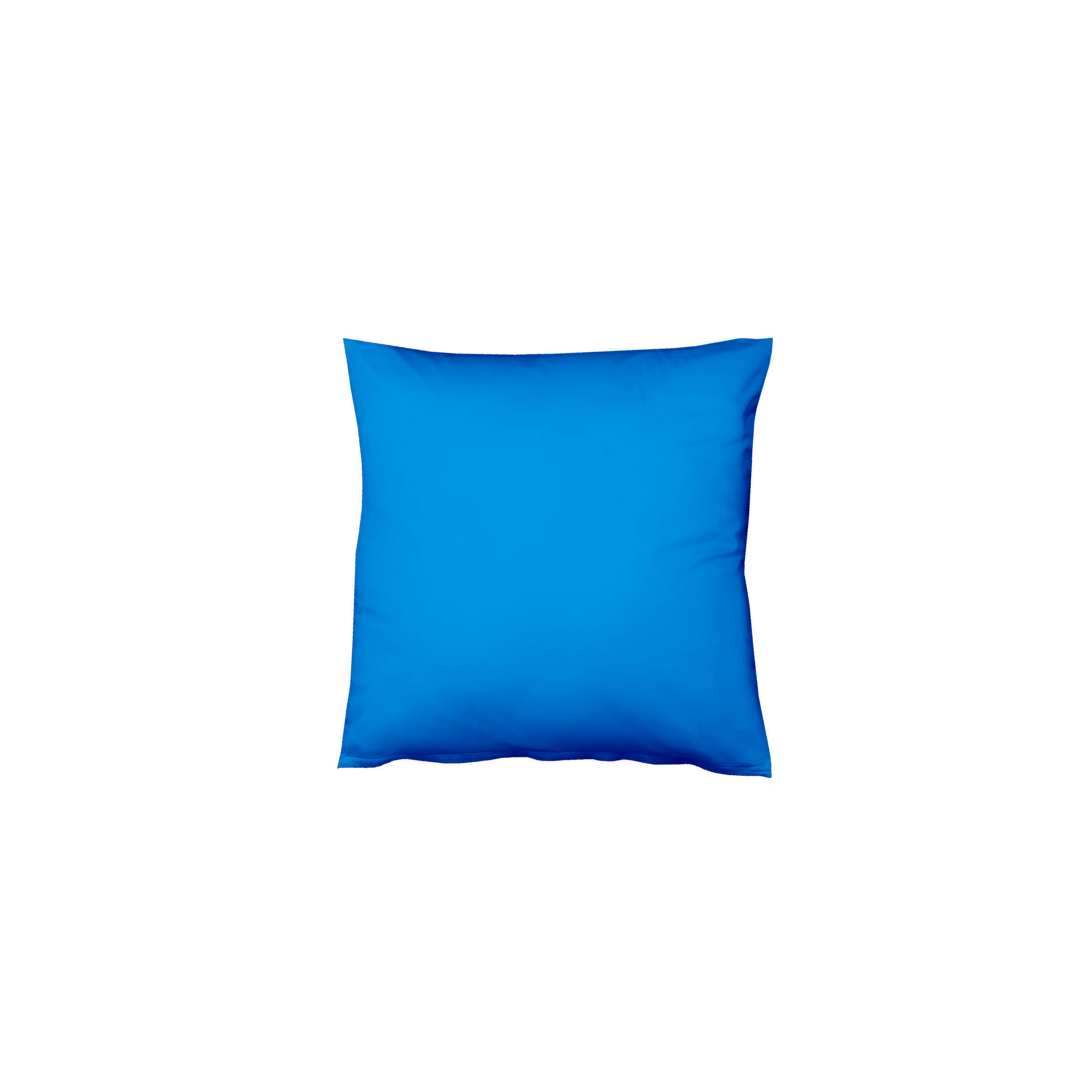 KISSENHÜLLE Blau 80/80 cm - Blau, Basics, Textil (80/80cm) - FLEURESSE