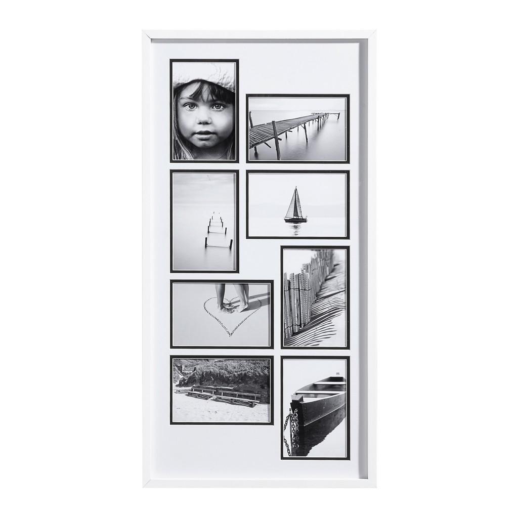 Nielsen Collagen-bilderrahmen weiß