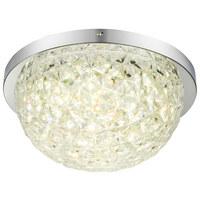 LED-DECKENLEUCHTE - Weiß, LIFESTYLE, Kunststoff/Metall (35cm) - Novel