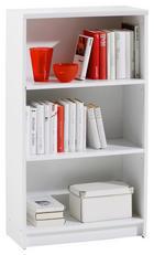 REGAL Weiß - Weiß, Design, Holzwerkstoff (60/106/28cm) - CARRYHOME