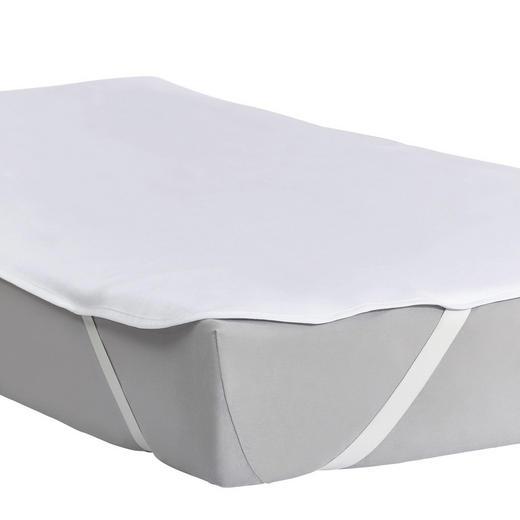 MATRATZENSCHONER  160/200 cm - Weiß, Basics, Textil (160/200cm) - Sleeptex