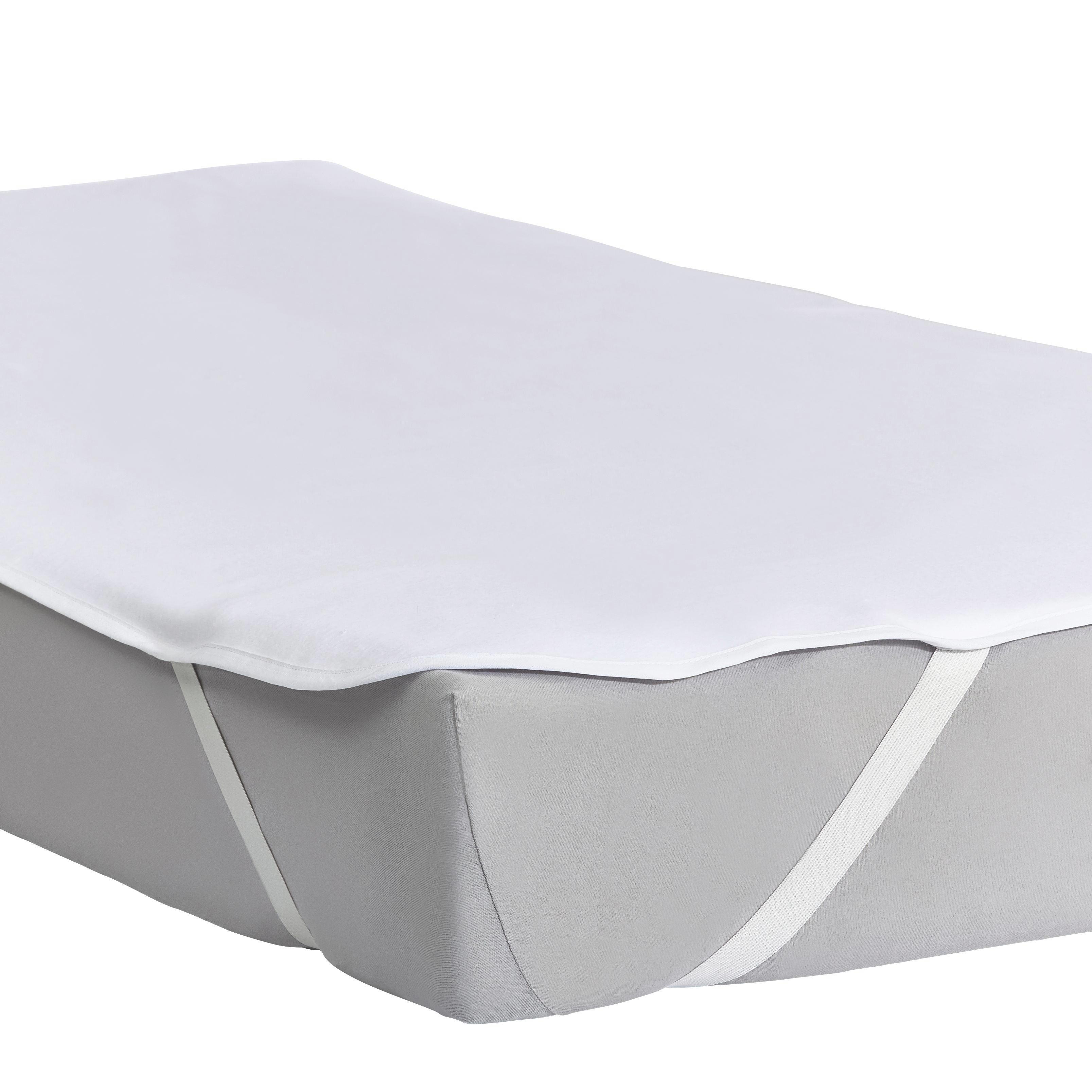 MATRATZENSCHONER  100/200 cm - Weiß, Textil (100/200cm) - SLEEPTEX