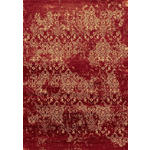 VINTAGE-TEPPICH Orleans  - Rot, LIFESTYLE, Textil (80/150cm) - Novel