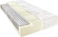 TASCHENFEDERKERNMATRATZE 90/200 cm - Weiß, Basics, Textil (90/200cm) - Voleo