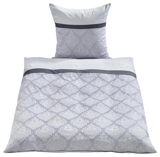 BETTWÄSCHE Jacquard Silberfarben 135/200 cm - Silberfarben, Basics, Textil (135/200cm) - Fleuresse
