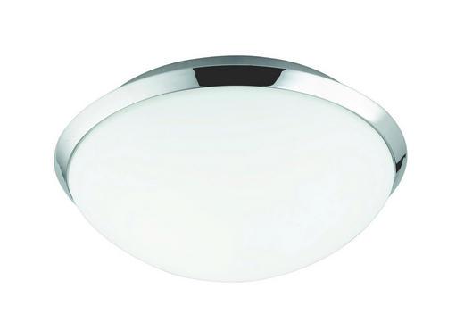 BADEZIMMER-DECKENLEUCHTE - Weiß, Basics, Metall (25/10.5cm)
