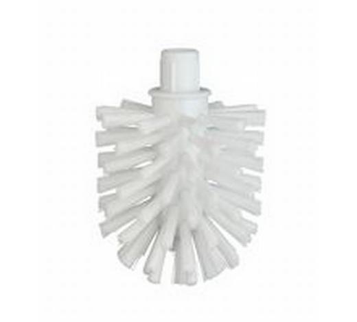 NÁHRADNÍ HLAVA WC ŠTĚTKY - bílá, Basics, umělá hmota (7cm)
