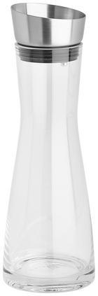 WASSERKARAFFE 0,9 L - Basics, Glas/Metall (10/30cm) - BLOMUS
