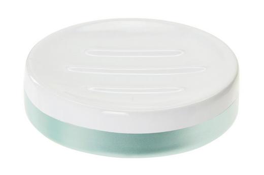 SEIFENSCHALE Keramik - Blau/Weiß, Basics, Keramik (10,4/2,5/10,1cm) - Celina