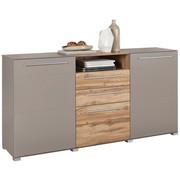 KOMODA SIDEBOARD - šedá/barvy dubu, Design, kompozitní dřevo/umělá hmota (180/90/43cm) - Hom`in