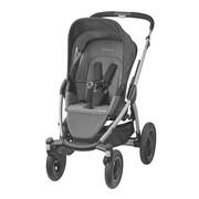 Mura 4 Plus  Kinderwagenset  3-teilig  Hellgrau - Silberfarben/Hellgrau, Basics, Kunststoff/Textil (1/1/1cm) - Maxi-Cosi