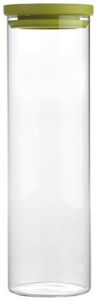 POSUDA ZA ZALIHE - zelena/prozirno, Konvencionalno, staklo/plastika (9,6/32cm) - Homeware