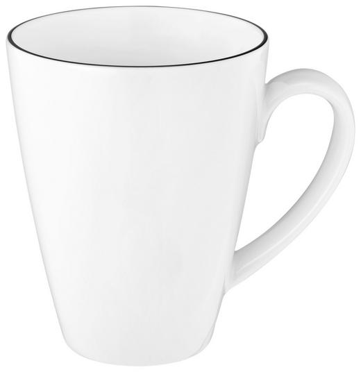 KAFFEETASSE - Schwarz/Weiß, Basics, Keramik (0,35l) - Seltmann Weiden