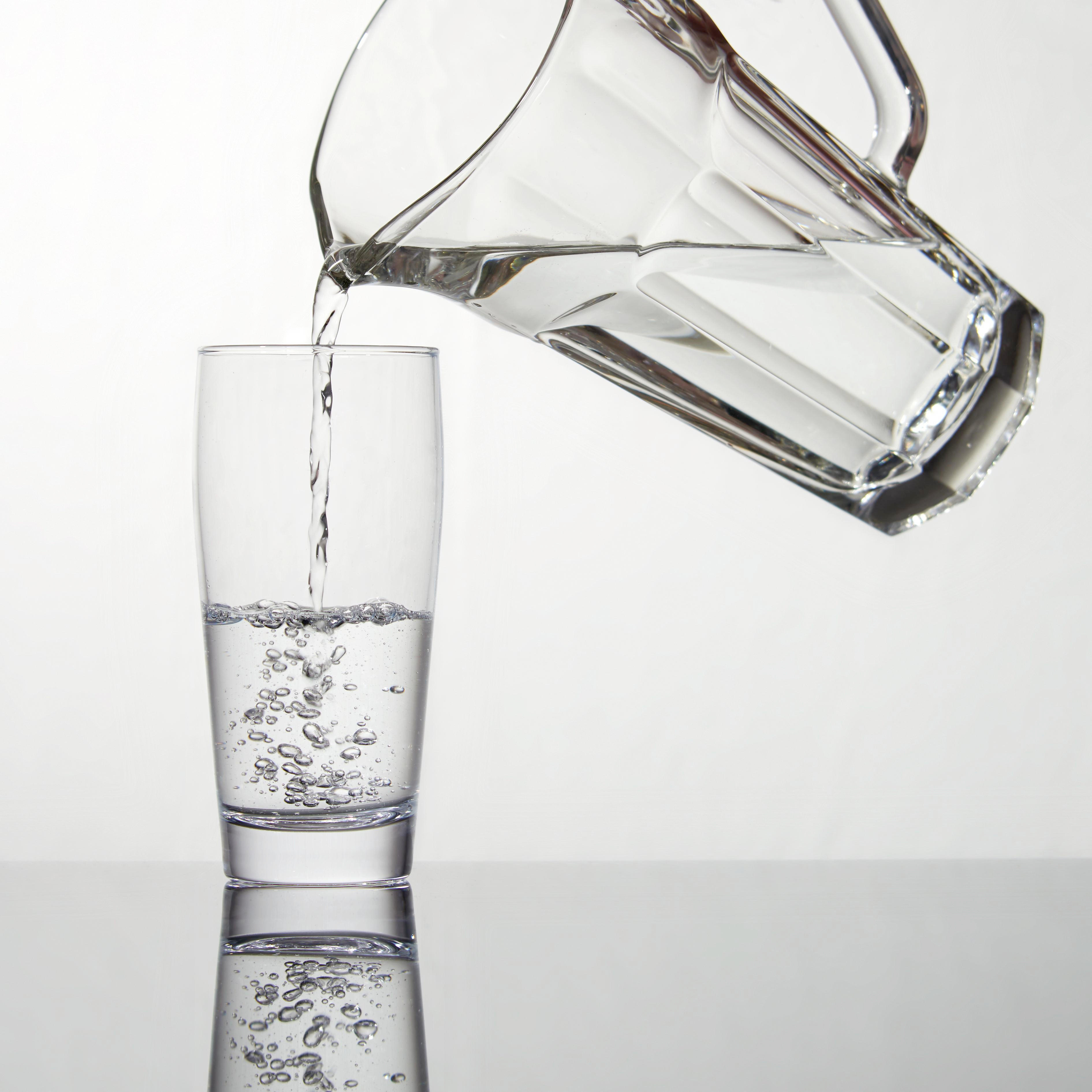 STAKLENI VRČ - prozirno, Konvencionalno, staklo (23cm) - HOMEWARE