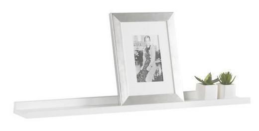WANDBOARD Weiß - Weiß, Design, Kunststoff/Metall (80/3,5/9cm) - Boxxx