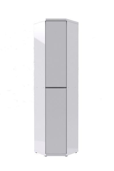 ORMAR KUTNI - bijela, Design, drvni materijal (56,2/56,2cm) - Xora