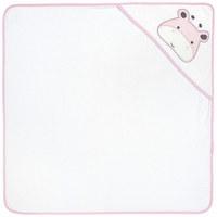 BRISAČA S KAPUCO SALLY, ROZA - roza/bela, Basics, tekstil (78/78cm) - My Baby Lou