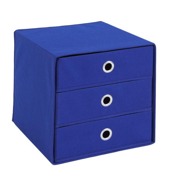 SKLOPIVA KUTIJA - plava, Design, plastika (31,5/32,0/31,5cm) - BOXXX
